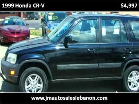 1999 Honda CR-V Used Cars Lebanon IN