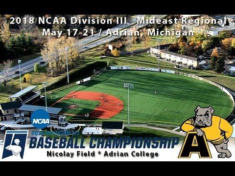 2018 NCAA Division III Baseball Mid-East Regionals: Wabash vs. Wooster (Game Fourteen)