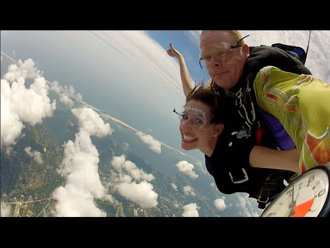 Skydiving for the first time - Day 65