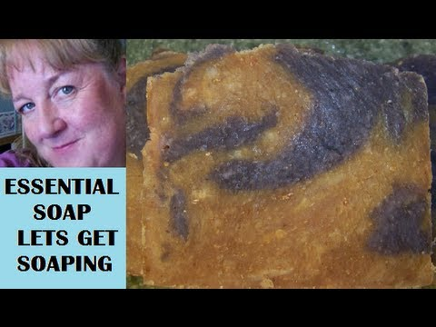 How to make Soap, Organic Coconut Milk or Goats Milk, Hot Process with Recipe