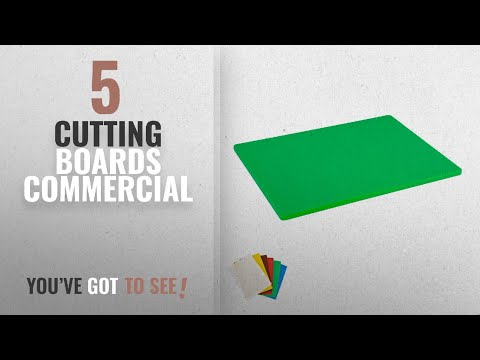 Top 10 Cutting Boards Commercial [2018]: Plastic Cutting Board, Commercial Grade, 12-inch by 18-inch