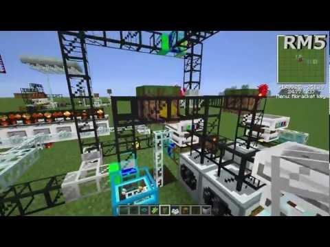 Minecraft - Etho's Tin, Gold, Pyrite Dust, & Wolframium Cell Generator Explanation