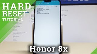 How to Wipe Cache Partition on Honor 8x - Remove Cache Files