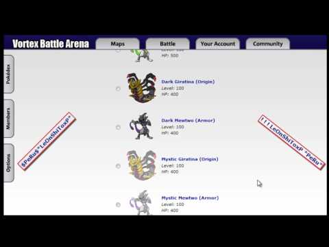 CATCHING: Victini - PKM VORTEX BATTLE ARENA V1.8