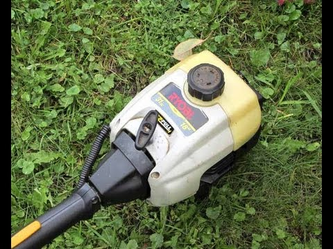 Fuel Line Configuration On 2 Cycle Ryobi Grass Trimmer