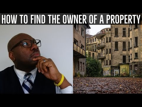 How to Find the Owner of a Property - Skip Tracing Tips