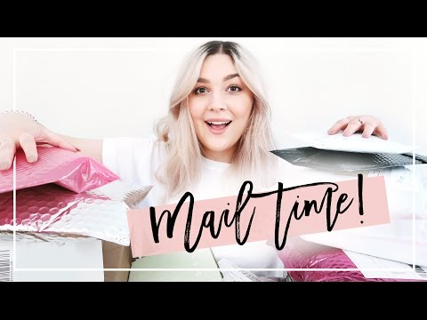 EVERYTHING I GOT SENT THIS MONTH! | UNBOXING BLOGGER MAIL & PR PACKAGES | I Covet Thee