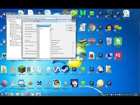 Assign/Change COM Port in Device Manager