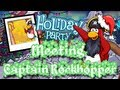 Club Penguin Meeting Captain Rockhopper (Holiday Party 2012)