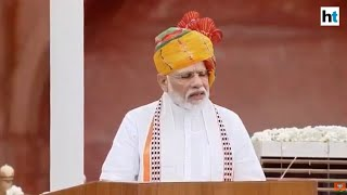 PM on I-Day: We criminalised triple talaq, gave justice to Muslim women