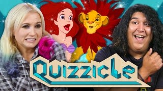 DISNEY QUIZZICLE CHALLENGE!!!  (New Game Show: React Special)