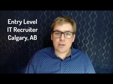 Entry Level IT Recruiter - Calgary, AB
