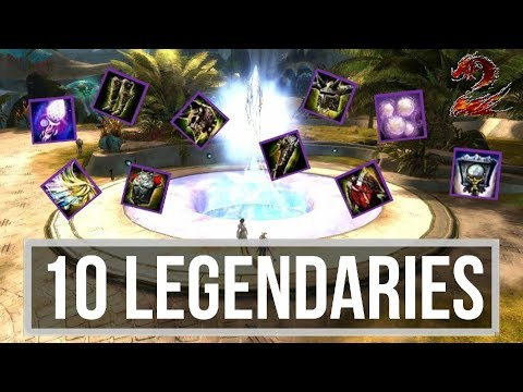 GW2 - Crafting my 1st and 10th Legendary at the same time!