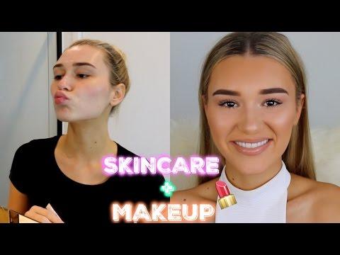 Skin Care + Everyday Drugstore Makeup Routine GRWM | Shani Grimmond