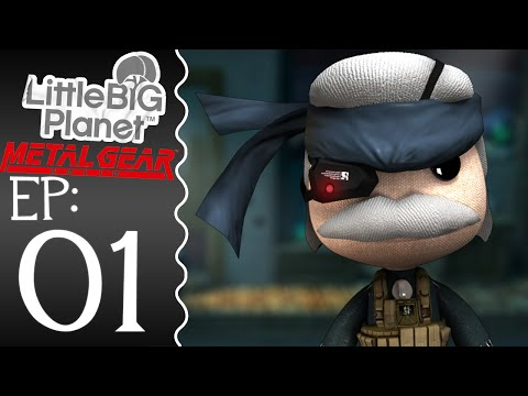 LittleBigPlanet 2 : Metal Gear Solid DLC - Episode 1