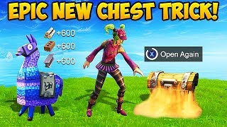 How To Open the SAME CHEST *TWICE* - Fortnite Funny Fails and WTF Moments! #308