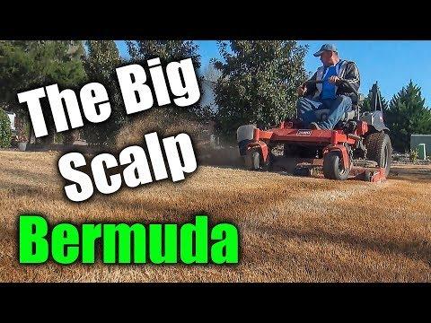 Scalping Bermuda Grass - The 2018 Spring Scalp of Lawn