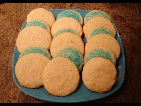 Sugar Cookies No Egg Recipe by Diane Lovetobake