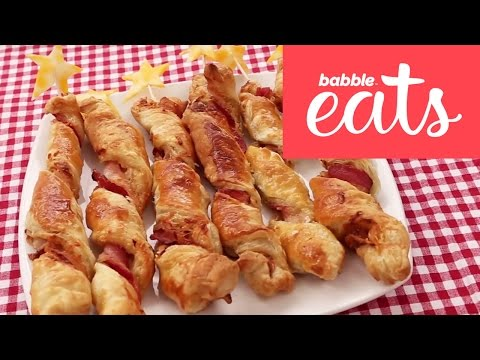 Cheesy Bacon Twists | Lunch & Dinner | Babble Eats