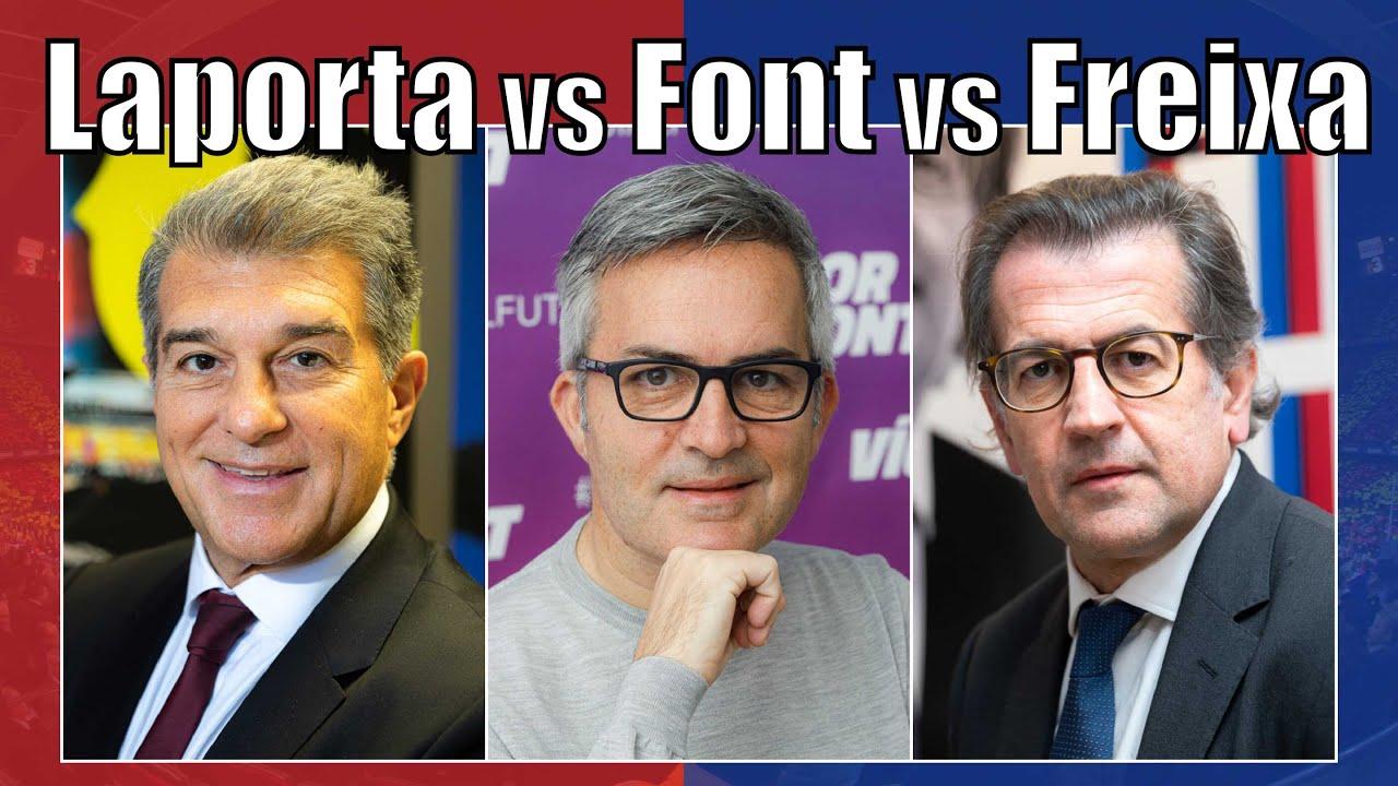 The First Debate: Laporta vs Font vs Freixa