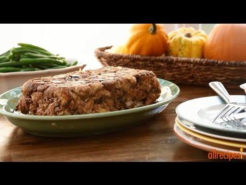 How to Make Vegetarian Stuffing | Vegetarian Recipes | Allrecipes.com
