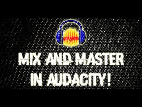 How to mix and master rap vocals in audacity so you can sound professional!