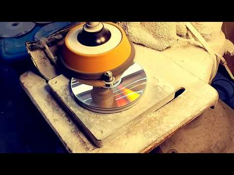 HOW TO FIX REPAIR A SCRATCHED BROKEN BLU-RAY OR DVD DISC VIDEO GAME MACHINE ELM BUFF POLISH SAND