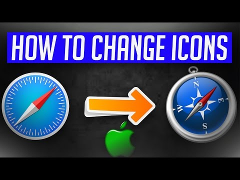 How to change ALL icon images on Mac 2017