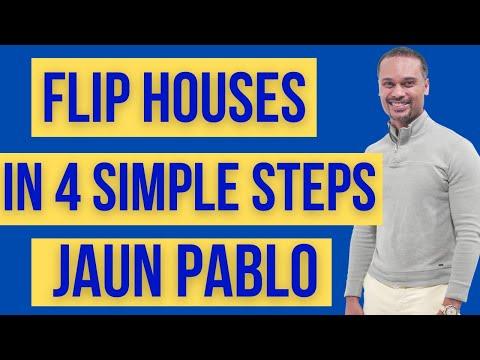 Flip Houses In 4 Steps