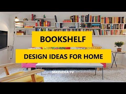 50+ Awesome Bookshelf Design Ideas for Home 2017