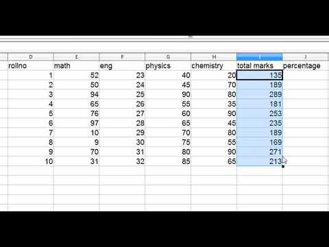 IF- function in open office spreadsheet