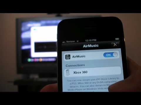 Stream Music to your Xbox Directly from your iPhone, iPad, or iPod! App Review AirMusic
