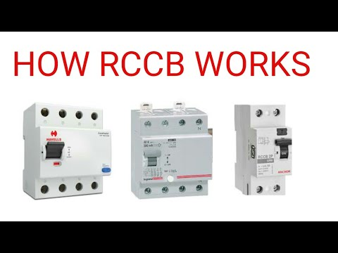 How RCCB work and protect -Residual current circuit breaker