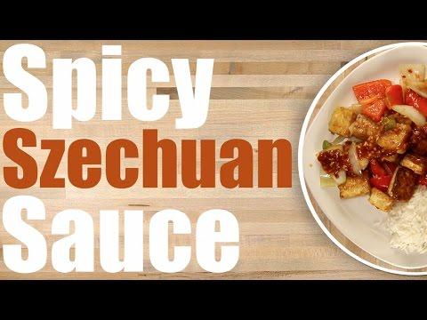 Szechuan Sauce Recipe - Spicy Schezwan Dipping Sauce