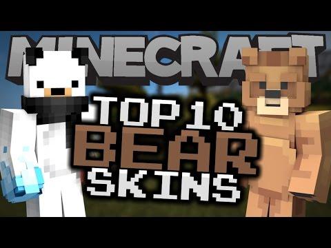Top 10 Minecraft BEAR SKINS! - Best Minecraft Skins