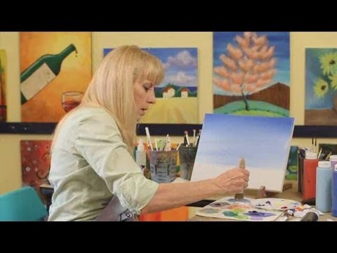 How to Paint the Sky | Acrylic Painting
