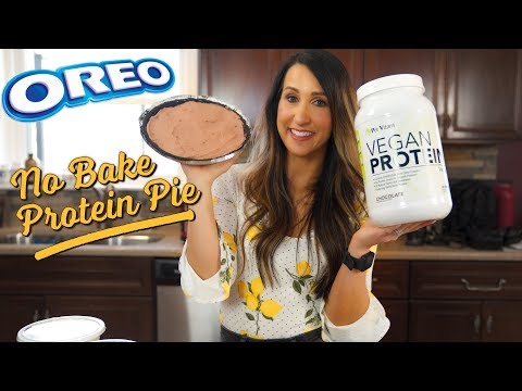 Oreo High-Protein Pudding Pie for Idiots