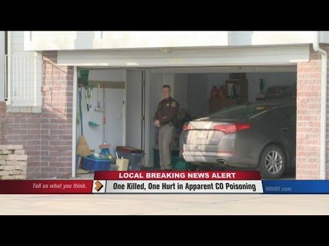 Car left running in garage, CO poisoning kills man