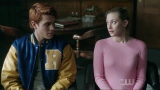Riverdale 1x13 [Archie & Betty Scenes]