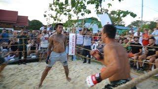MUAY THAI DANCER vs PRO MMA FIGHTER !!! Crazy Fight !!!