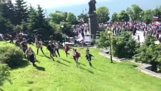 protesters arrested at vladivostok anticorruption demonstration