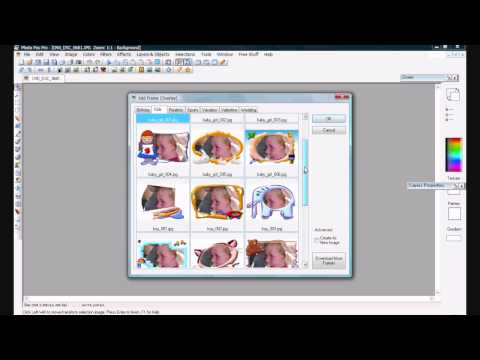 How to create greeting card from photo using Photo Pos Pro