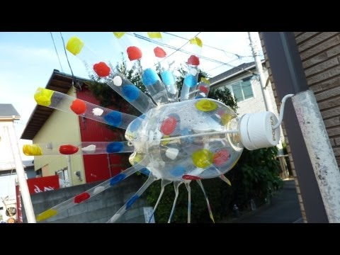 How to make a Plastic Bottle Windmill