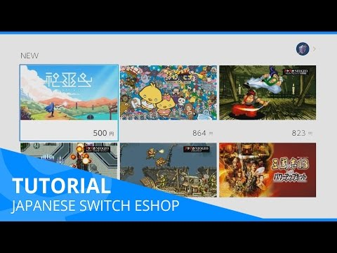 How to Create a Japanese Nintendo Switch EShop Account - TUTORIAL