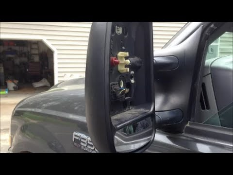 Tow Mirror Repair - Ford Superduty 99 & Up Truck