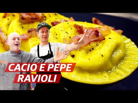 Lucas Learns How to Make Ravioli from an Italian Master Pasta Maker — Dining on a Dime