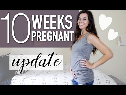 I FINALLY HAVE A DUE DATE! || 10 WEEK PREGNANCY UPDATE || BABY'S FIRST ULTRASOUND