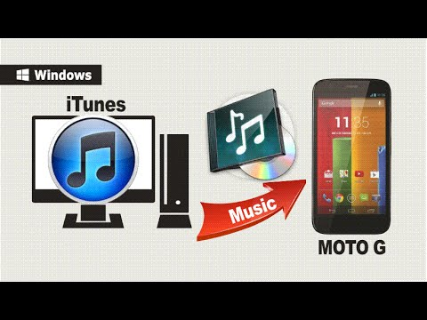 [iTunes to MOTO G Phone] How to Transfer/Sync iTunes Music to Moto G / Moto G2 Phone Directly
