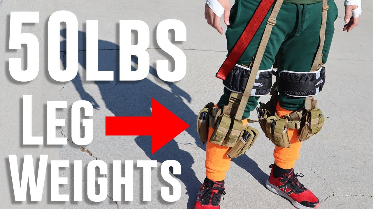 I wore Rock Lee's leg Weights for TWO WEEKS, did I get faster???