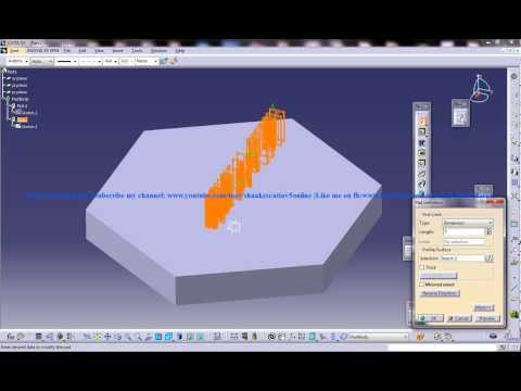 Catia V5 Tutorial|How to create Engraved/Embossed Text|Working with dxf in sketcher workbench